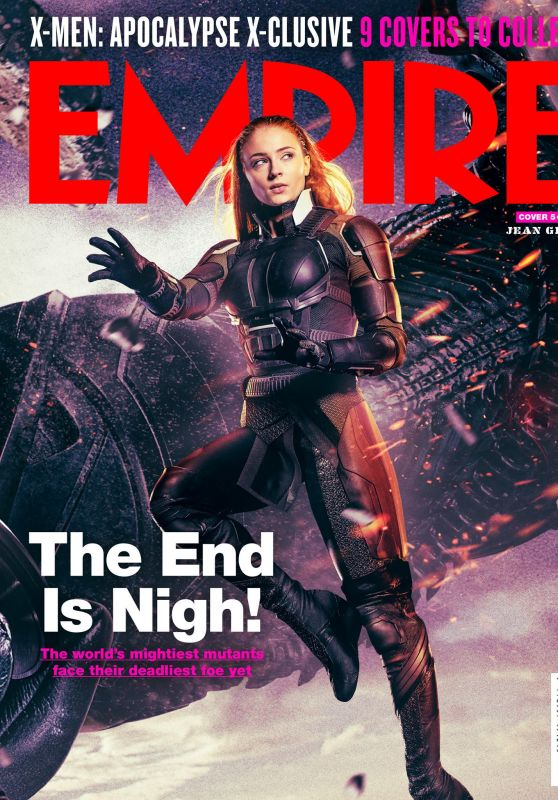 Sophie Turner - Empire Magazine UK May 2016 Cover