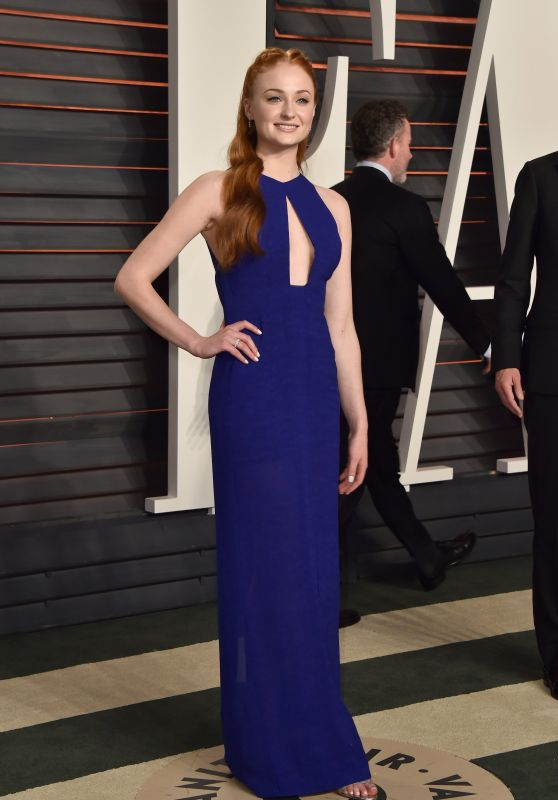 Sophie Turner – Vanity Fair Oscar 2016 Party in Beverly Hills, CA