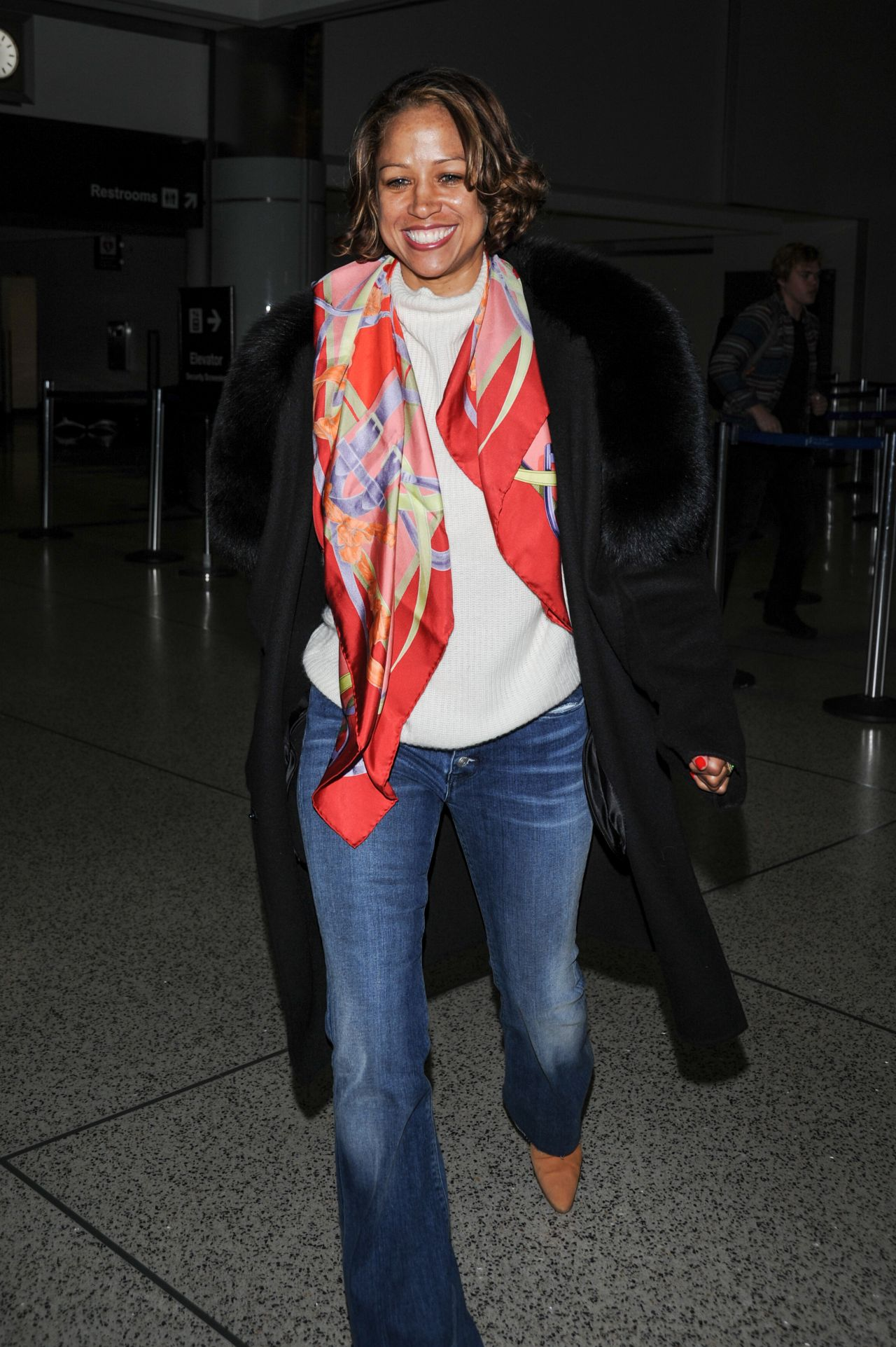 Stacey Dash at LAX Airport in Los Angeles 3/6/2016