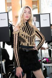 Stella Maxwell – Balmain Show – Paris Fashion Week, March 2016