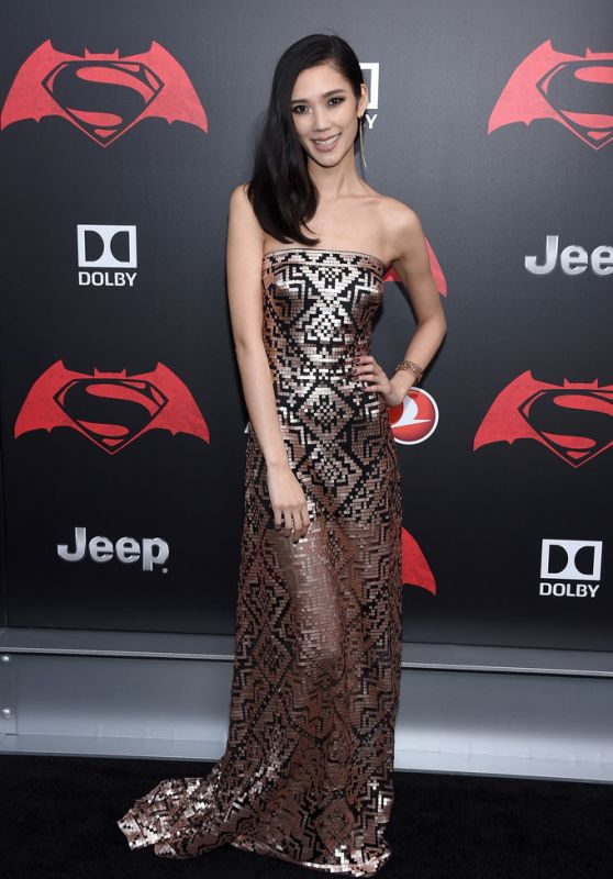 Tao Okamoto – 'Batman V Superman: Dawn Of Justice' Premiere in NYC 3/20/2016