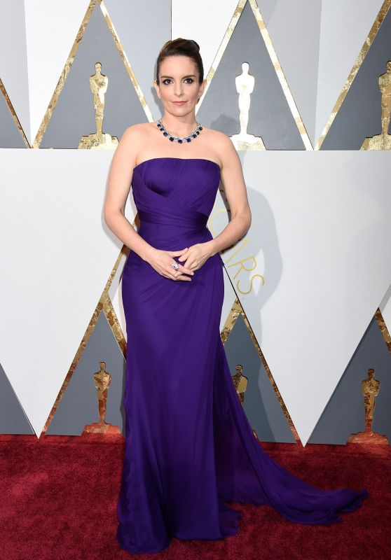 Tina Fey – Oscars 2016 in Hollywood, CA 2/28/2016