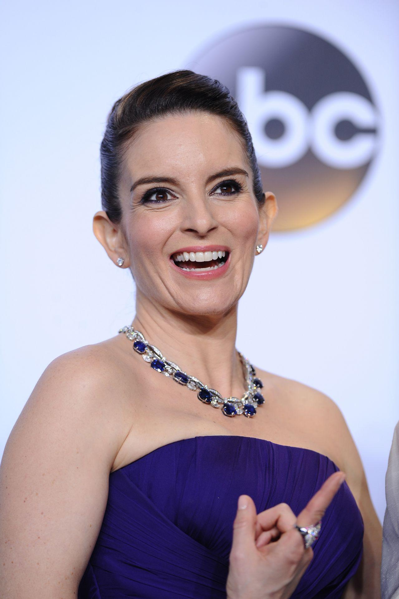Tina Fey Oscars 2016 In Hollywood Ca 2 28 2016