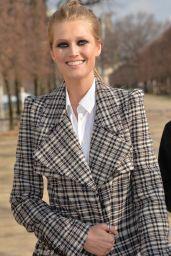 Toni Garrn - After Elie Saab Fashion Show in Paris, March 2016