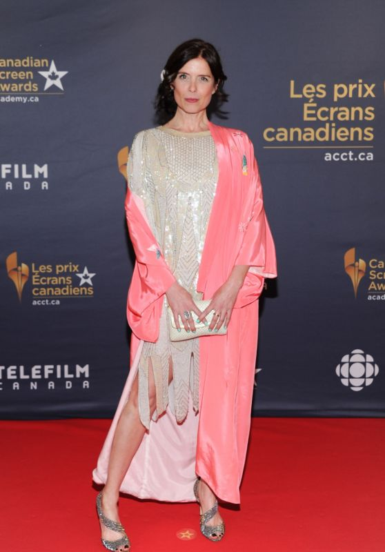 Torri Higginson - 2016 Canadian Screen Awards in Toronto