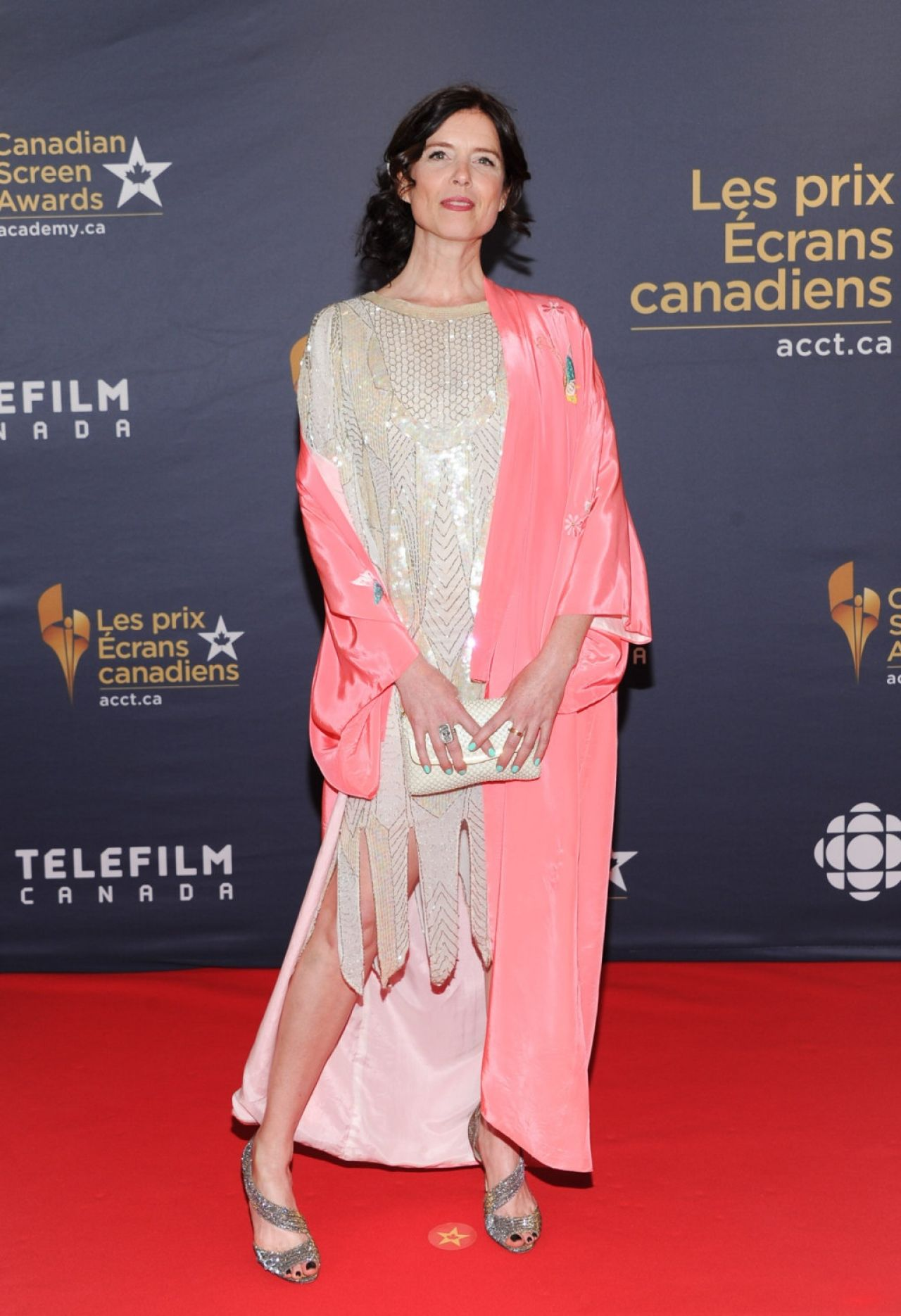 Torri Higginson - 2016 Canadian Screen Awards in Toronto