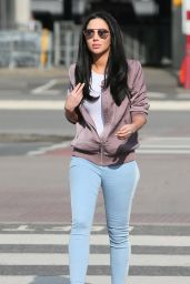 Tulisa Contostavlos at London Heathrow Airport, March 2016
