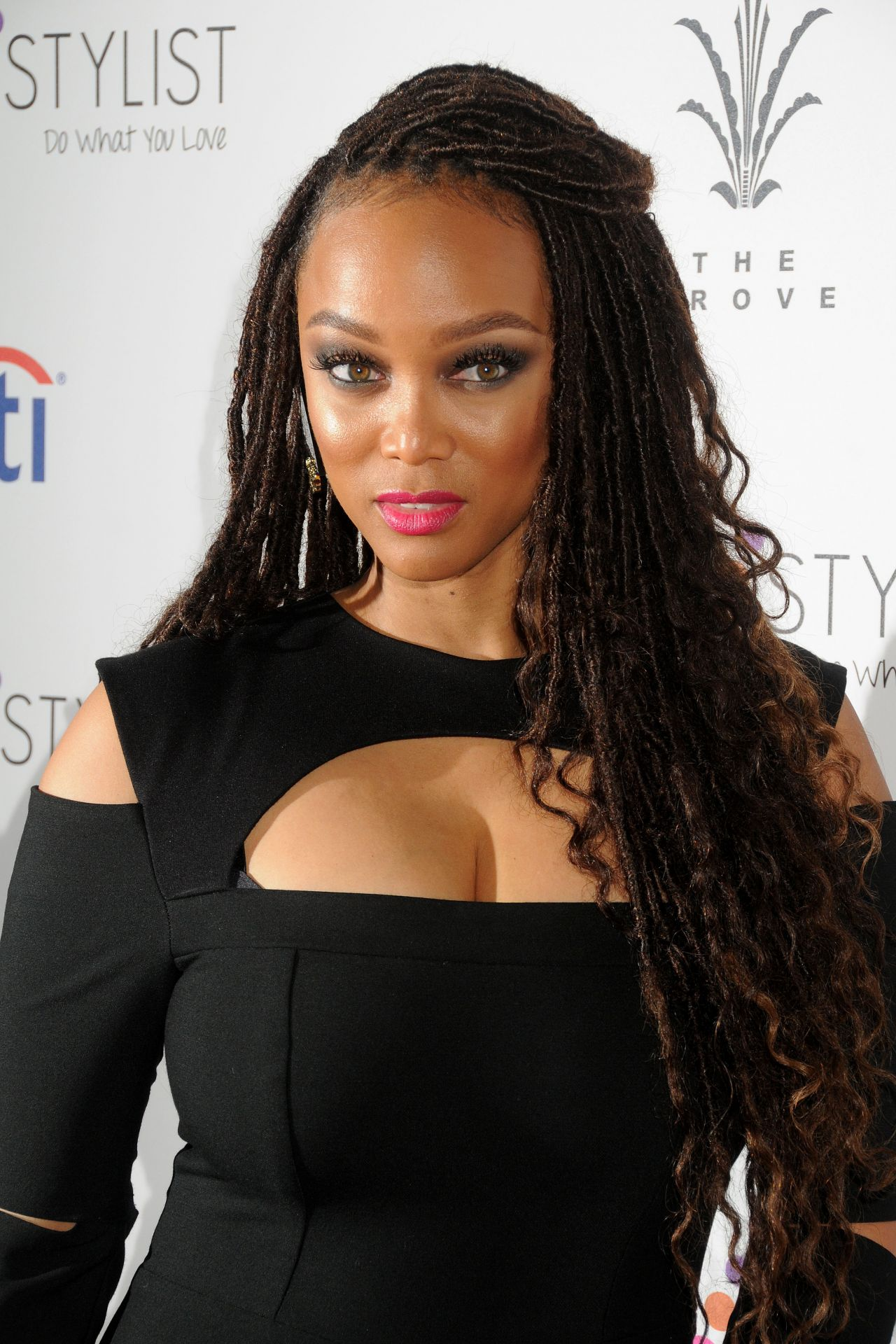 Tyra Banks Simply Stylist Conference Los Angeles