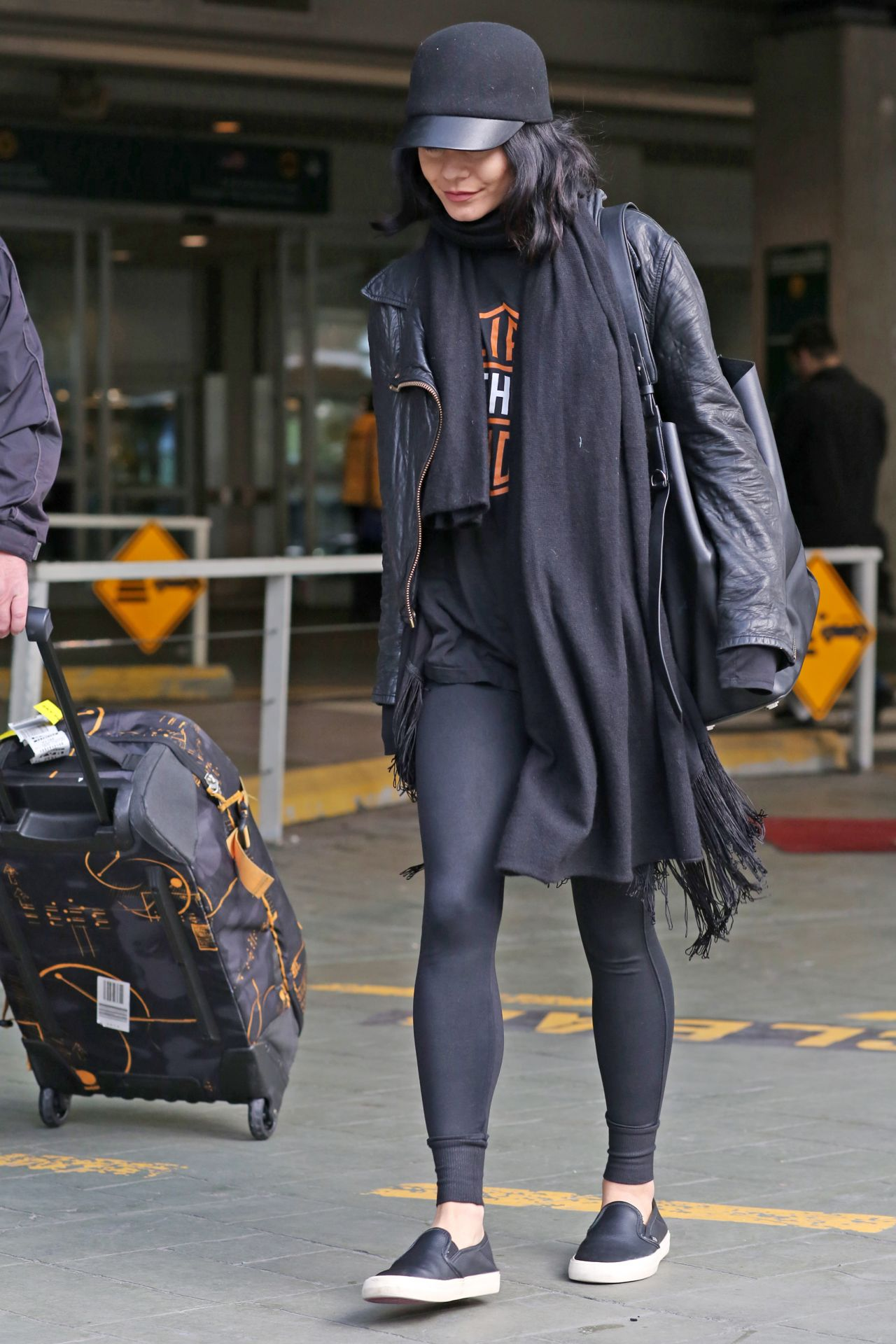 Vanessa Hudgens Airport Style Vancouver International