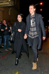 Vanessa Hudgens and Austin Butler - Go to See Hamilton in New York City 3/24/2016