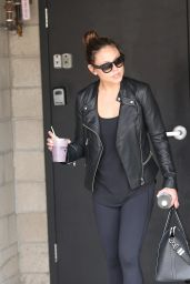 Vanessa Lachey at Heart and Hustle Gym in West Hollywood, March 2016
