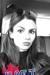 Victoria Justice Social Media Pics, March 2016