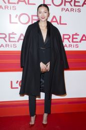 Xiao Wen Ju – L'Oreal Red Obsession Party – Paris Fashion Week 3/8/2016