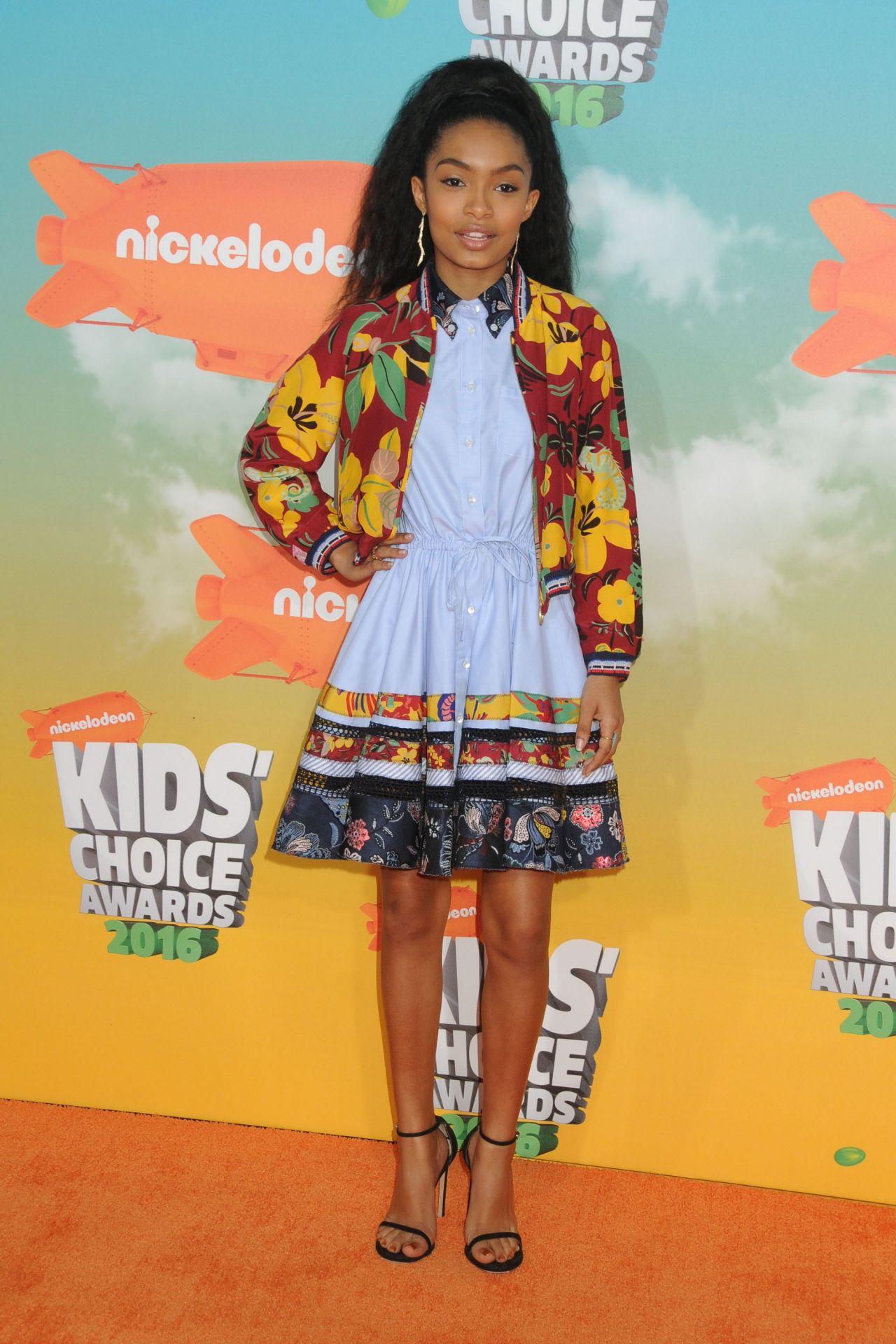 Yara Shahidi 2016 Nickelodeon Kids Choice Awards Inglewood Ca 496356