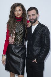 Zendaya - Louis Vuitton Fashion Show in Paris 3/9/2016