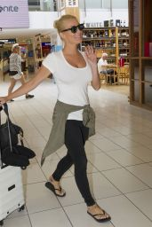 Zilda Williams at the Airport as She Jets in and out of Sydney 3/6/2016