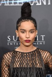 Zoë Kravitz – 'The Divergent Series – Allegiant' Premiere in New York City 3/14/2016