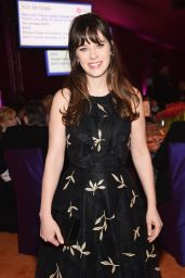 Zooey Deschanel – 2016 Elton John AIDS Foundation's Oscar Viewing Party in West Hollywood, CA