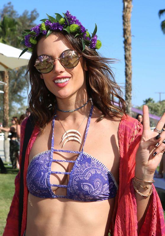 Alessandra Ambrosio – Revolve Desert House at Coachella 4/16/2016