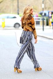 Abbey Clancy - Leaving the 34 Restaurant in Mayfair, London 4/5/2016