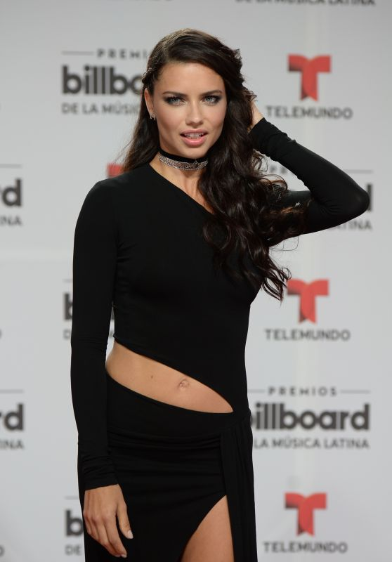 Adriana Lima - 2016 Billboard Latin Music Awards in Miami