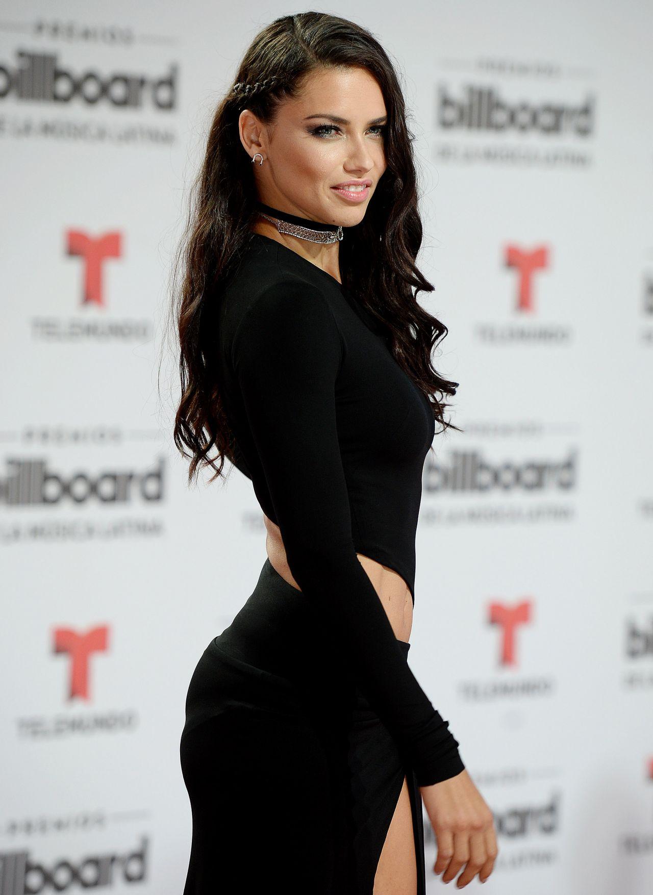 Adriana Lima 2016 Billboard Latin Music Awards In Miami