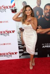 Adrienne Bailon - BARBERSHOP: THE NEXT CUT Premiere in Hollywood