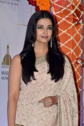 Aishwarya Rai Bachchan - Gala Bollywood Dinner at the Taj Palace Hotel in Mumbai 4/10/2016