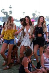 Alessandra Ambrosio - Coachella Music Festival in Indio, CA Day Three 4/17/2016