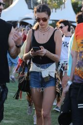 Alessandra Ambrosio - Coachella Valley Music and Arts Festival 2016 in Indio - Day 2