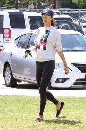 Alessandra Ambrosio - Soccer Practice in Santa Monica 4/26/2016