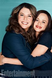 Alexis Bledel & Lauren Graham - Entertainment Weekly Magazine April 15, 2016