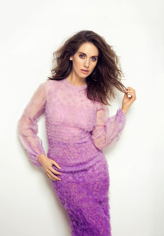 Alison Brie - New York Post Photos March 2016
