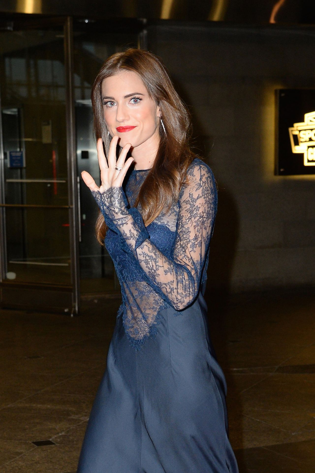 Allison Williams 2016 Blossom Ball Benefiting