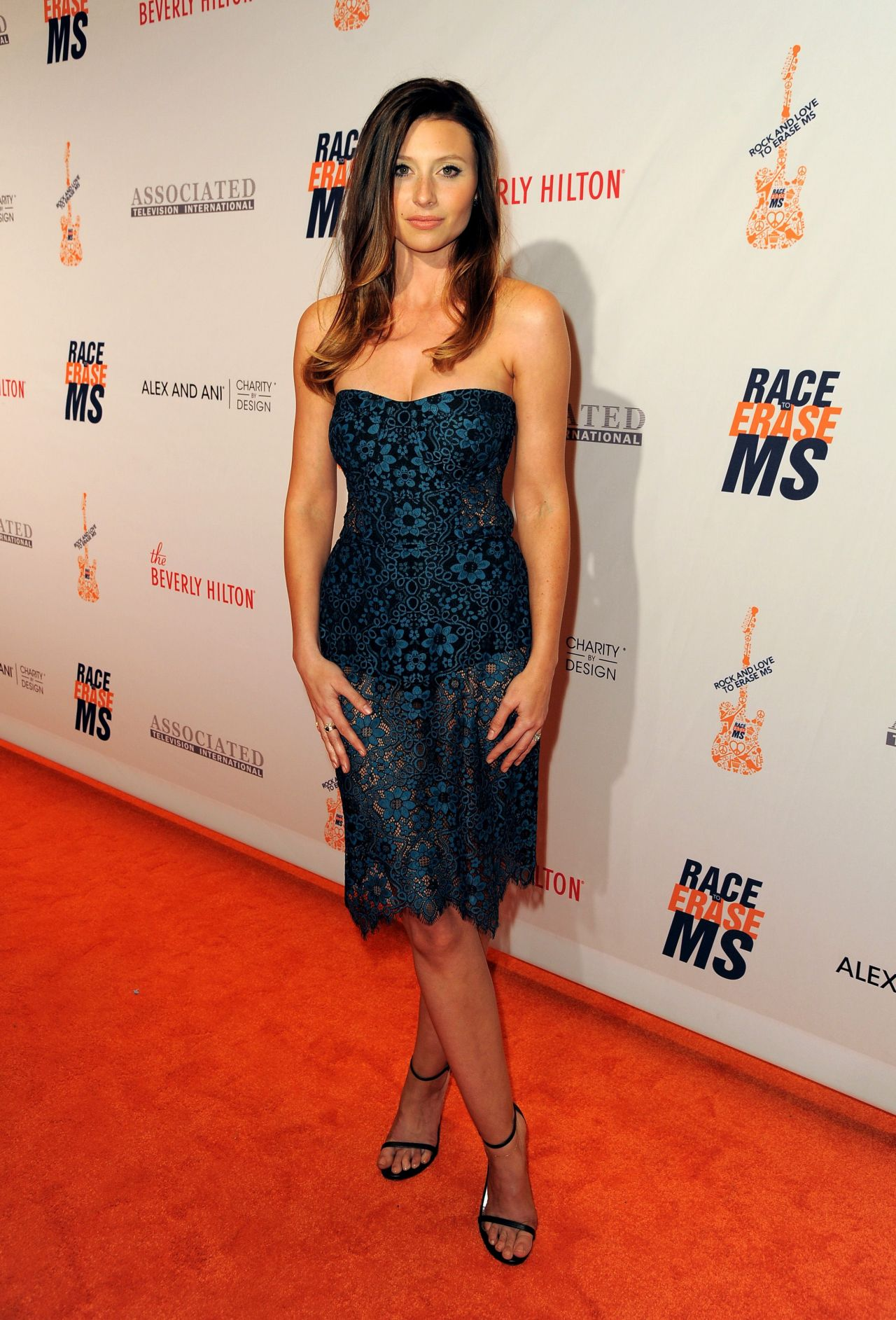 Alyson Aly Michalka – 2016 Race To Erase MS Gala in ...