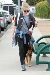 Amanda Seyfried - Takes Finn For a Walk Around West Hollywood 4/10/2016