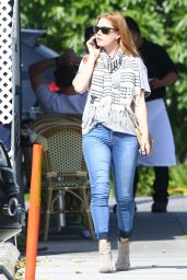 Amy Adams Casual Street Outfit - Los Angeles 4/22/2016