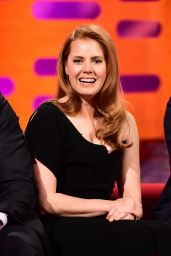 Amy Adams - Graham Norton Show in London, March 31 2016