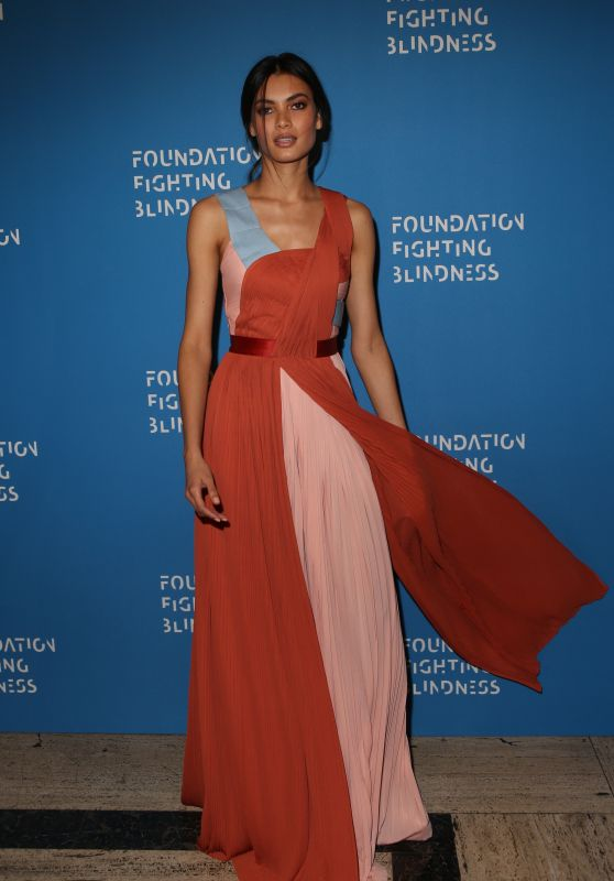 Angela Ruiz – Foundation Fighting Blindness World Gala in New York City, April 2016