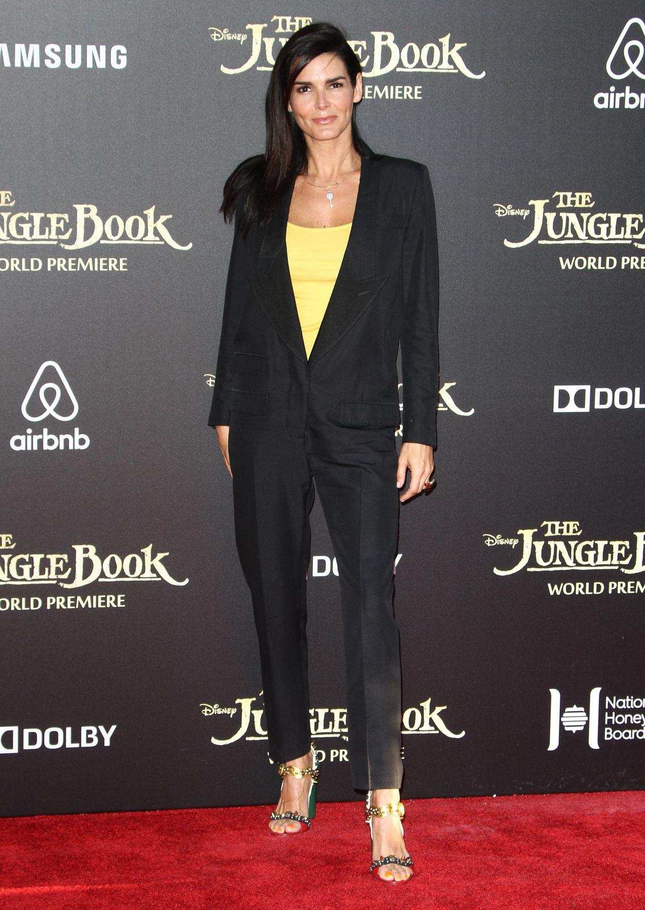 Angie Harmon Disney S The Jungle Book Premiere In