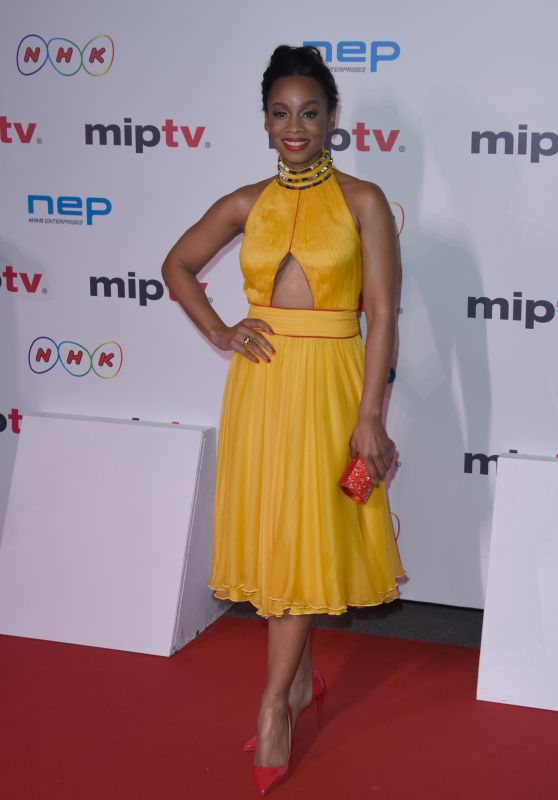 Anika Noni Rose – MIPTV Gala at Hotel Martinez in Cannes, France 4/4/2016
