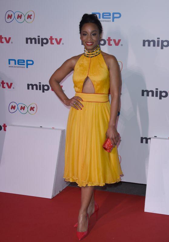 Anika Noni Rose – MIPTV Gala at Hotel Martinez in Cannes, France 4/4/2016