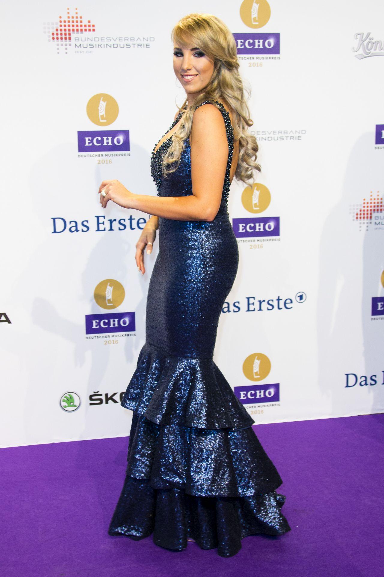Annemarie Eilfeld – 2016 Echo Music Awards in Berlin, Germany