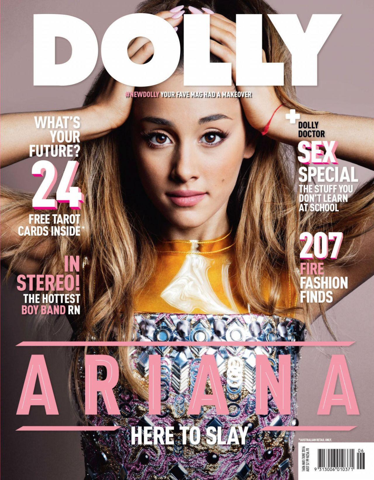 Ariana Grande Dolly Magazine Australia June 2016 Issue