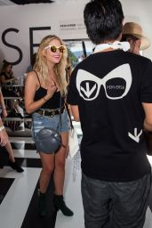 Ashley Benson at the PERVERSE cirque Tent Coachella 2016 Weekend 1