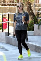 Ashley Benson in Leggings - Out in West Hollywood 4/19/2016