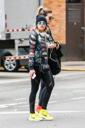 Ashley Benson in Spandex - Out in NYC 4/7/2016