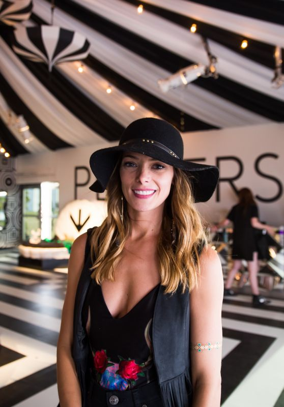 Ashley Greene – Stopping by the PERVERSE Cirque Tent – Weekend 1 of Coachella 2016