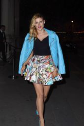Ashley James in Mini Skirt - Magnum Double Launch Party in London 4/20/2016