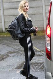 Ashley James - Out in London, UK 4/22/2016